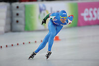 SCHAATSEN: BOEDAPEST: Essent ISU European Championships, 07-01-2012, 5000m Men, Marco Cignini ITA, ©foto Martin de Jong