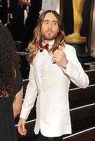 WWW.BLUESTAR-IMAGES.COM Actor Jared Leto attends the 86th Annual Academy Awards held at Hollywood &amp; Highland Center on March 2, 2014 in Hollywood, California.<br /> Photo: BlueStar Images/OIC jbm1005  +44 (0)208 445 8588