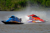 Frame 9: Chris Hughes, (#17) and Mark Schmerbach, (#35) come together in the first turn.    (SST-45 class)