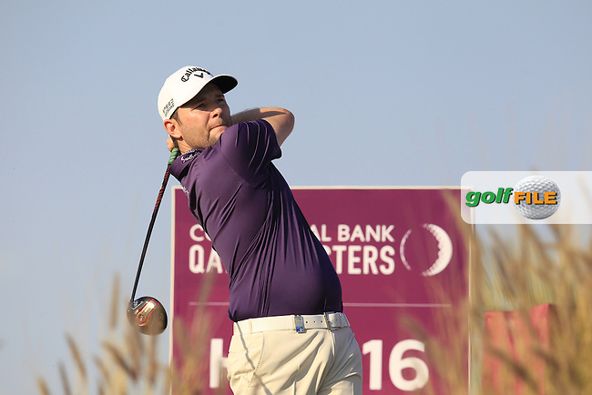 Branden GRACE (RSA) tees off the 16th tee during Saturday's Final Round of the 2015 Commercial Bank Qatar Masters held at Doha Golf Club, Doha, Qatar.: Picture Eoin Clarke, www.golffile.ie: 1/24/2015