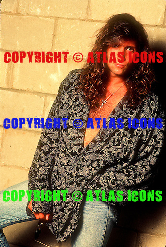 Skid Row; Portrait Session; Sebastian Bach House; 1991<br /> Photo Credit: Eddie Malluk/Atlas Icons.com
