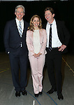 Duke Lafoon, Kerry Butler, Tom Galantich during the 'Clinton The Musical' - Sneak Peek at Ripley Grier Studios on March 4, 2015 in New York City.