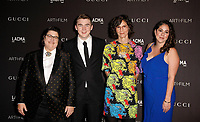 Oliver Opie; artist Julie Burleigh; honoree Catherine Opie and Sara LaCroix attend 2018 LACMA Art + Film Gala at LACMA on November 3, 2018 in Los Angeles, California.     <br /> CAP/MPI/IS<br /> &copy;IS/MPI/Capital Pictures