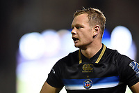 Chris Cook of Bath Rugby looks on. European Rugby Champions Cup match, between Bath Rugby and Benetton Rugby on October 14, 2017 at the Recreation Ground in Bath, England. Photo by: Patrick Khachfe / Onside Images