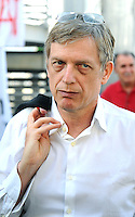 Gianni Cuperlo <br /> Genova 07-09-2013 Festa Nazionale Partito Democratico <br /> Democratic Party National Meeting <br /> Photo  Genova Foto /Insidefoto