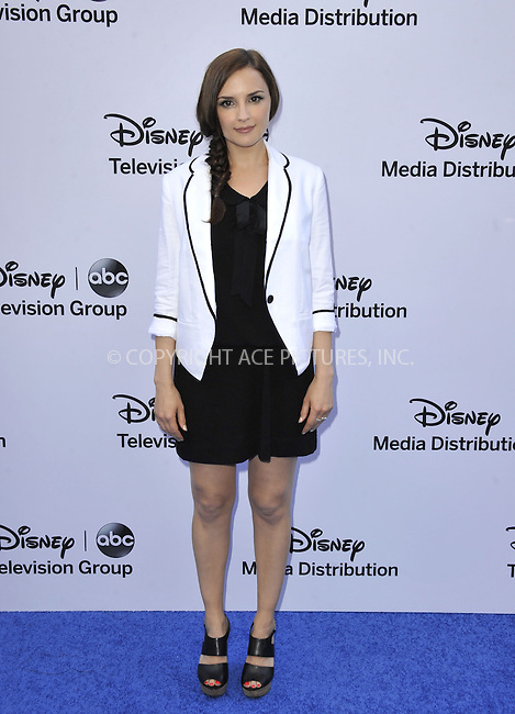 WWW.ACEPIXS.COM....May 19 2013, LA....Rachael Leigh Cook arriving at the Disney Media Networks International Upfronts at Walt Disney Studios on May 19, 2013 in Burbank, California.......By Line: Peter West/ACE Pictures......ACE Pictures, Inc...tel: 646 769 0430..Email: info@acepixs.com..www.acepixs.com