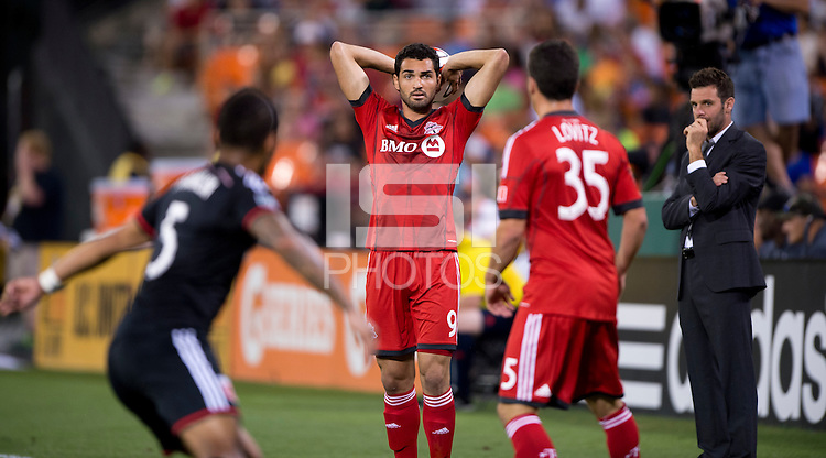 Washington, DC - July 30, 2014: D.C. United defeated Toronto FC 3-0 during a Major League Soccer (MLS) game at RFK Stadium.