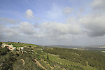 Israel, Lower Galilee, a view from Mash'had