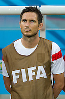 Frank Lampard of England starts on the bench