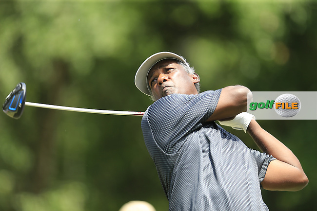 Vijay Singh (FJI) during practice for the Players, TPC Sawgrass, Championship Way, Ponte Vedra Beach, FL 32082, USA. 11/05/2016.<br /> Picture: Golffile | Fran Caffrey<br /> <br /> <br /> All photo usage must carry mandatory copyright credit (&copy; Golffile | Fran Caffrey)
