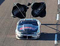 Feb 23, 2019; Chandler, AZ, USA; NHRA pro stock driver Jason Line during qualifying for the Arizona Nationals at Wild Horse Pass Motorsports Park. Mandatory Credit: Mark J. Rebilas-USA TODAY Sports