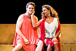 "Pedro Mari Sanchez and Lolita during theater play ""La Asamblea de las Mujeres"" at Teatro La Latina in Madrid. August 23 2016. (ALTERPHOTOS/Borja B.Hojas)"