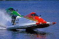 Byron Harris (#44) and Scott Ard (#2) Altamonte Springs,FL 1998 (SST-120)
