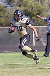 Palos Verdes, CA 09/13/13 - Rory Hubbard (Peninsula #22) in action during the Culver City vs Palos Verdes Peninsula High School Varsity Football game at Palos Verdes Peninsula HIgh School.