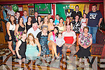 HAPPY: Happy faces in Con Bar, River Island Hotel, Castleisland on Saturday night as Jennifer Lyons from Knocknagoshel, invited her family and friends to her 21 birthday party.(Jennifer is seated 2nd from left)............................................................................ ........