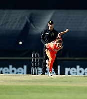 2nd November 2019; Western Australia Cricket Association Ground, Perth, Western Australia, Australia; Womens Big Bash League Cricket, Perth Scorchers versus Melbourne Stars; Natalie Sciver of the Perth Scorchers bowls during her spell - Editorial Use