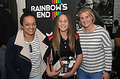 Under 18 Girls Most Improved Player of the Year, Dayna Moon from Alfriston College with Sharnita Woodman and Hazel Tubici. Counties Manukau Rugby Unions Junior Prize giving held at ECOLight Stadium Pukekohe on Wednesday October12th, 2016.<br /> Photo by Richard Spranger.