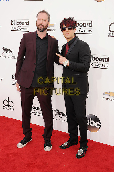LAS VEGAS, CA- MAY 18: Tom Green; Criss Angel arrives at the 2014 Billboard Music Awards at the MGM Grand Garden Arena on May 18, 2014 in Las Vegas, Nevada.<br /> CAP/ROT/TM<br /> &copy;TM/Roth Stock/Capital Pictures