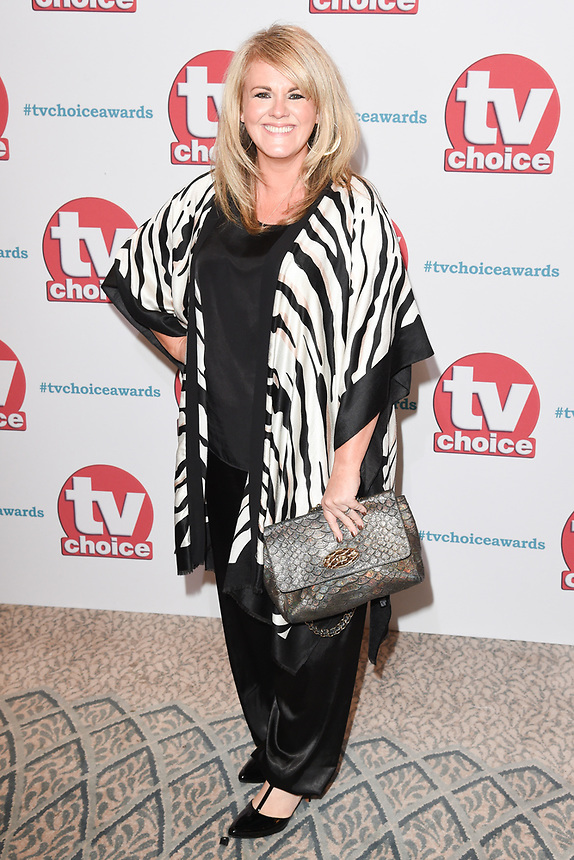 Sally Lindsay<br /> arriving for the TV Choice Awards 2017 at The Dorchester Hotel, London. <br /> <br /> <br /> ©Ash Knotek  D3303  04/09/2017