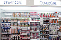 Various Covergirl products are seen on shelves at a Jean Coutu Pharmacy in Quebec city March 4, 2009.