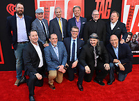 Gonzaga Prep taggers, Mike Konesky, Chris Ammann, Joe Tombari, Bill Akers, Brian Dennehy, Rev. Sean Raftis, Joe Caferro, Rick Bruya, Patrick Schultheis &amp; Mark Mengert at the world premiere for &quot;TAG&quot; at the Regency Village Theatre, Los Angeles, USA 07 June  2018<br /> Picture: Paul Smith/Featureflash/SilverHub 0208 004 5359 sales@silverhubmedia.com