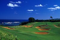 Prince golf  course, Princeville, Kauai
