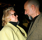 Barbara Cook &amp; F. Murray Abraham arriving for the Opening Night Performance  of  CORAM BOY at the Imperial Theatre in New York City.<br />