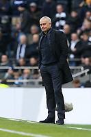 Tottenham Hotspur manager Jose Mourinho during Tottenham Hotspur vs Wolverhampton Wanderers, Premier League Football at Tottenham Hotspur Stadium on 1st March 2020