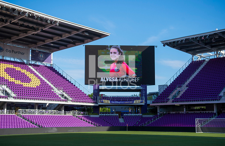 Orlando, FL - March 6, 2018: The USWNT trains in preparation for the final match of the SheBelieves Cup at Orlando City Stadium.