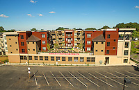 Photography of the Park & Kingston Apartments in Historic South End Charlotte, NC.<br /> <br /> Charlotte Photographer - PatrickSchneiderPhoto.com
