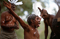 Aurukun Dancers 3,  Laura Aboriginal Dance Festival, Laura, Cape York Peninsula, Queensland, Australia.