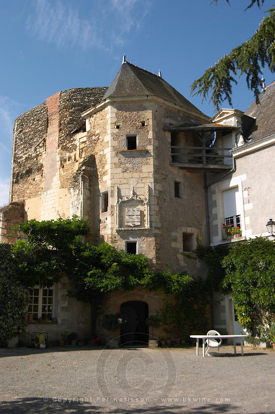 Chateau de Passavant, Anjou, Loire, France