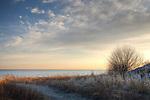 Morning on Winthrop Beach, Winthrop, Massachusetts, USA