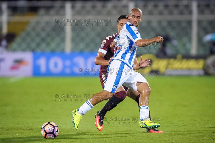 Ahmad Benali (Pescara) during the Italian Serie A football match Pescara vs Torino on September 21, 2016, in Pescara, Italy. Photo di Adamo Di Loreto/BuenaVista*photo