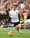 Valencia CF's    Jose Gaya   during La Liga match. January 31, 2016. (ALTERPHOTOS/Javier Comos)