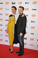 JULIANNE NICHOLSON AND DIRECTOR MATTHEW NEWTON - RED CARPET OF THE FILM 'WHO WE ARE NOW' - 42ND TORONTO INTERNATIONAL FILM FESTIVAL 2017