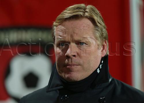 01.03.2016. Vitality Stadium, Bournemouth, England. Barclays Premier League. Bournemouth versus Southampton. Southampton Manager Ronald Koeman
