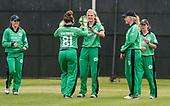 Scotland V Ireland - Women's Cricket International - Ireland celebrate a Kim Garth (centre) wicket - picture by Donald MacLeod - 01.08.2017 - 07702 319 738 - clanmacleod@btinternet.com - www.donald-macleod.com