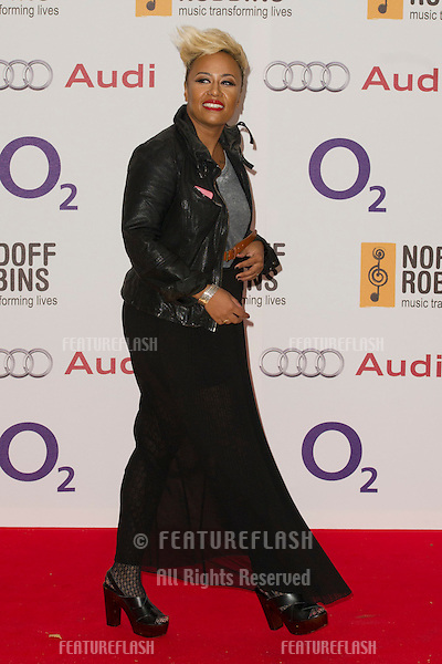 Emilie Sande arriving for the Silver Clef Awards, Hilton Hotel, Park Lane, London. .29/06/2012 Picture by: Simon Burchell / Featureflash