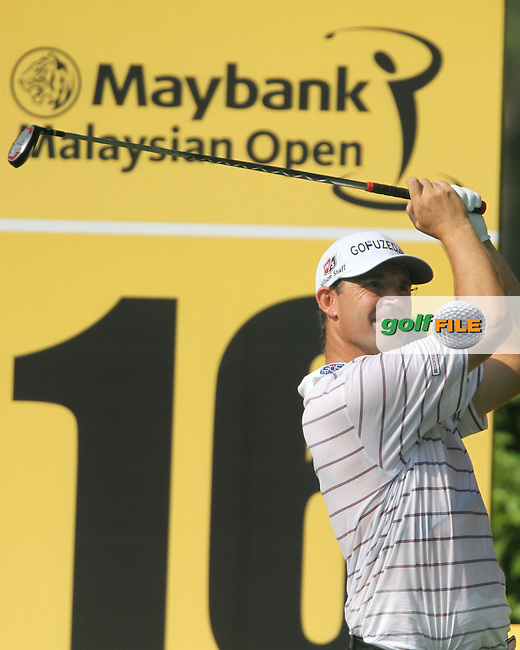 Padraig Harrington (IRL) on the 16th on Day 1 of the 2013 Maybank Malaysian Open, Kuala Lumpur Golf and Country Club, Kuala Lumpur, Malaysia 21/3/13...(Photo Jenny Matthews/www.golffile.ie)