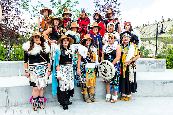 Adaka Cultural Festival 2016, Whitehorse, Yukon, Canada, Yukon First Nation Culture and Tourism Association, Kwanlin Dun Cultural Centre, Dakhká Khwáan Dancers, DKD