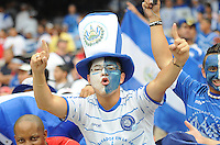 El Salvador fan.  Panama defeated El Salvador in penalty kicks 5-3 in the quaterfinals for the 2011 CONCACAF Gold Cup , at RFK Stadium, Sunday June 19, 2011.
