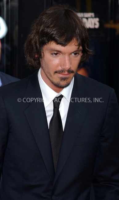WWW.ACEPIXS.COM . . . . . ....NEW YORK, JULY 19, 2005....Lukas Haas at the 'Gus Van Sant's Last Days' premiere held at the Landmark Sunshine Cinema... ..Please byline: KRISTIN CALLAHAN - ACE PICTURES.. . . . . . ..Ace Pictures, Inc:  ..Craig Ashby (212) 243-8787..e-mail: picturedesk@acepixs.com..web: http://www.acepixs.com