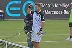 12.06.2019, Tennisclub Weissenhof e. V., Stuttgart, GER, Mercedes Cup 2019, ATP 250, Jan-Lennard STRUFF (GER) vs Miomir KECMANOVIC (SRB) <br /> <br /> im Bild Jan-Lennard STRUFF (GER) jubelt nach seinem Sieg<br /> <br /> Foto © nordphoto/Mauelshagen