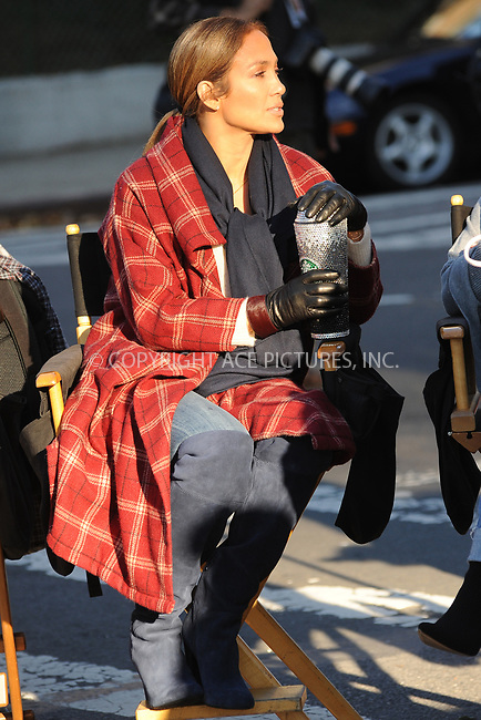 www.acepixs.com<br /> October 27, 2017 New York City<br /> <br /> Jennifer Lopez seen filming 'Second Act' on location in New York City on October 27, 2017<br /> <br /> Credit: Kristin Callahan/ACE Pictures<br /> <br /> <br /> Tel: (646) 769 0430<br /> e-mail: info@acepixs.com