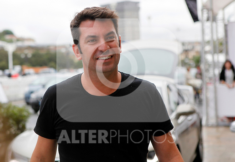 "Arturo Vals arrives to Maria Cristina Hotel for the presentation of his new film ""Futbolin"" during the 61 San Sebastian Film Festival, in San Sebastian, Spain. September 20, 2013. (ALTERPHOTOS/Victor Blanco)"
