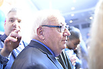 Garden City, New York, USA. November 6, 2018. Nassau County Democrats watch Election Day results at Garden City Hotel, Long Island. Senator JOHN BROOKS was re-elected as New York State Senateor for SD9.