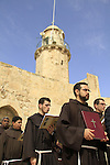 Lent, a spiritual pilgrimage to the Ascension Chapel on the Mount of Olives by the Franciscan brothers
