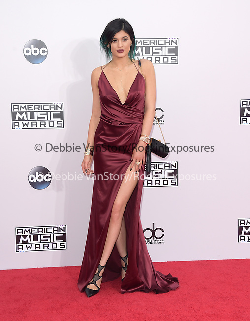Kylie Jenner at The 2014 American Music Award held at The Nokia Theatre L.A. Live in Los Angeles, California on November 23,2014                                                                               © 2014Hollywood Press Agency