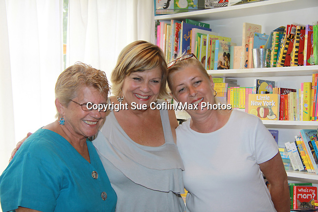 """Fans came to see Guiding Light's and One Life To Live's Kim Zimmer signs her new book """"I'm Just Saying'! on August 6, 2011 at Watchung Booksellers in Montclair, New Jersey for her fans and friends.  (Photo by Sue Coflin/Max Photos)"""